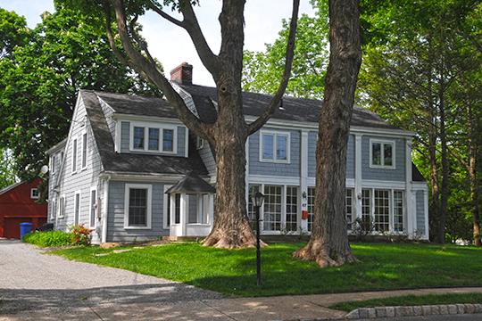 Lebbeus Dod House, ca. 1750, Mendham Historic District, Mendham, NJ, National Register