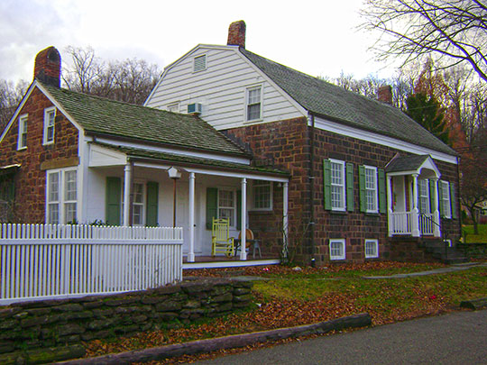 John and Anna Vreeland House, ca. 1817, 971 Valley Road, Clifton, NJ, National Register
