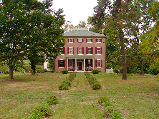 Richard Brick House, ca. 1750, Salem, New Jersey, National Register