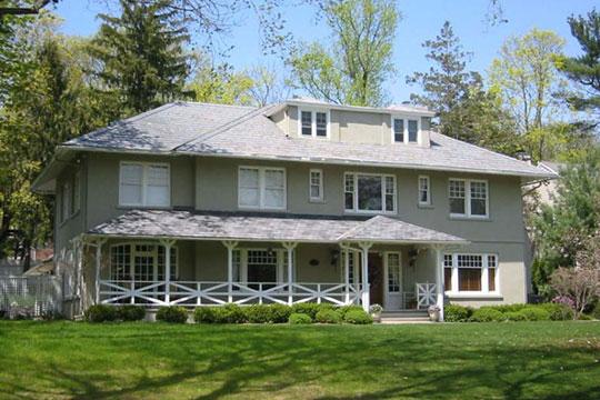 Home on Childsworth Street, Olcott Avenue Historic District, Bernardsville, NJ, National Register