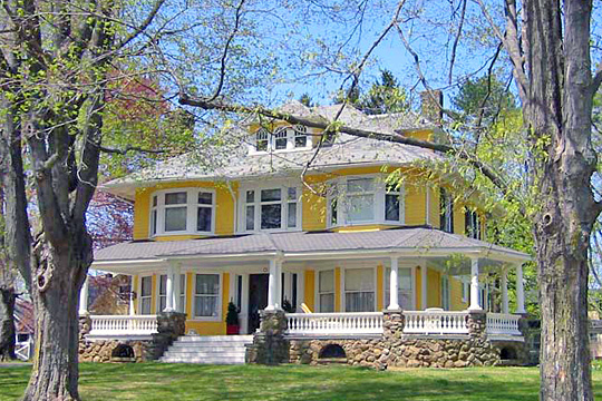 Home in the Olcott Avenue Historic District, Bernardsville, NJ, National Register