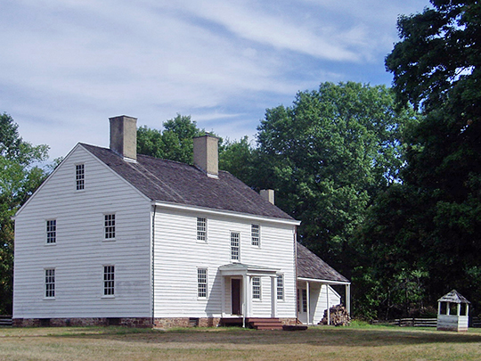 wallace house,1778,national register,washington place,somerville,somerset county,nj