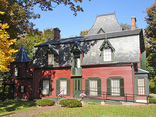 Nathaniel Drake House, ca. 1746, 602 West Front Street, Plainfield, Union County, New Jersey, National Register