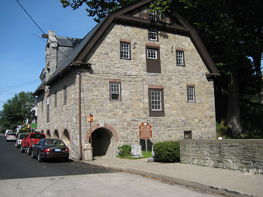 Old Mill, Blairstown Historic District, Blairstown, New Jersey, National Register.