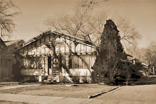Home on Southwest 14th Street, ca. 1913, Aldo Leopold Neighborhood Historic District, Albuquerque, NM, National Register