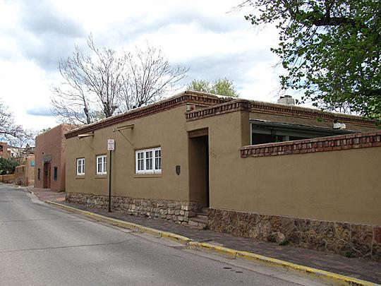 Gregorio Crespin house 132 East De Vargas Street, Santa Fe