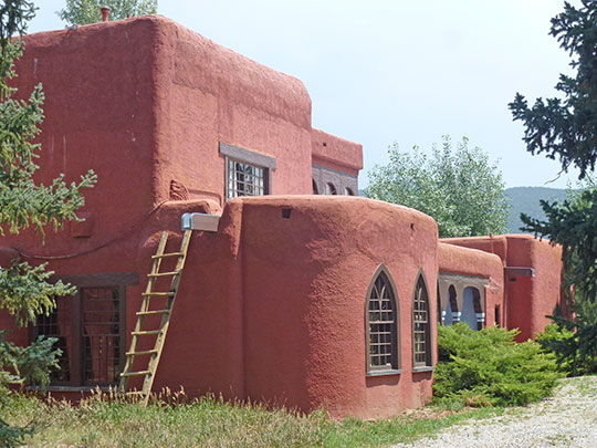 Leon Gaspard House (Gaspard House Museum), Kit Carson and Raton Roads, Taos, NM, National Register