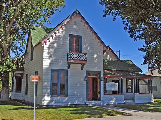 W. C. Record House, Roberts House, ca. 1874, 146 West 2nd Street, Winnemucca, NV, National Register