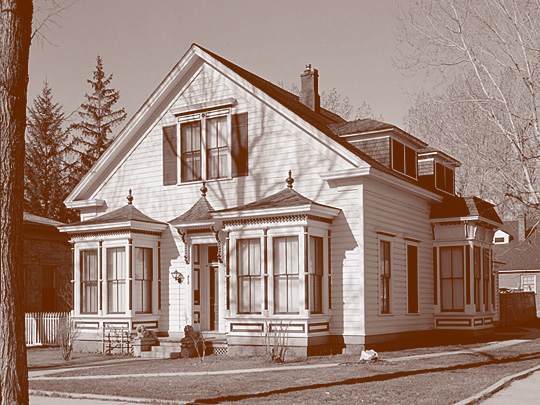Alfred Chartz House, ca. 1876, 412 North Nevada Street (corner of Nevada and Spear Streets), Carson City