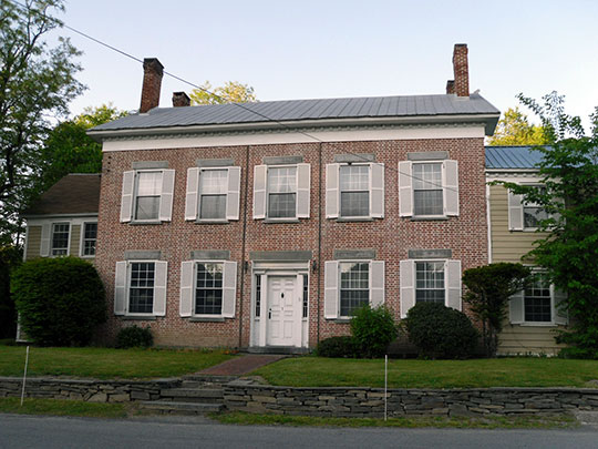 Briggs House, Alcove Historic District, Town of Coeymans, Albany County, NY, National Register