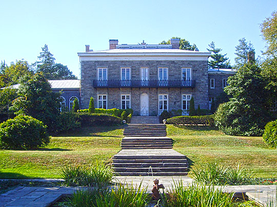 Bartow-Pell Mansion, ca. 1836, 895 Shore Road North (Pelham Bay Park), Bronx, NY, National Register