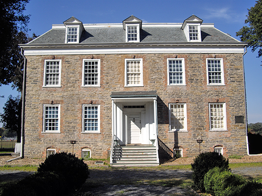 Van Cortland House, ca. 1748, Van Cortland Park, Bronx, NY, National Register