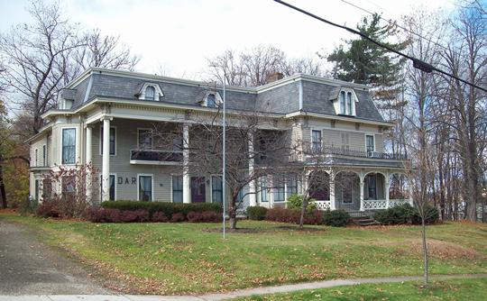 Partridge-Sheldon House, ca. 1865, 70 Prospect Street, Jamestown, NY, National Register