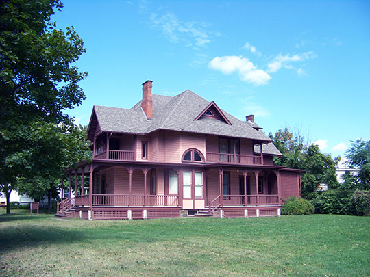 Zimmerman House, ca. 1890, 601 Pine Street, Horseheads, NY, National Register