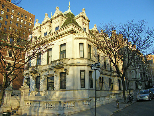 Schinasi House, ca. 1907, 361 Riverside Drive, New York, NY, National Register