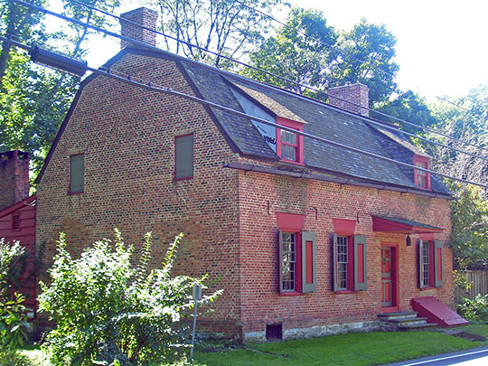 Cornelius S. Muller House, ca. 1767, 602 NY Route 23B, Claverack, NY, National Register
