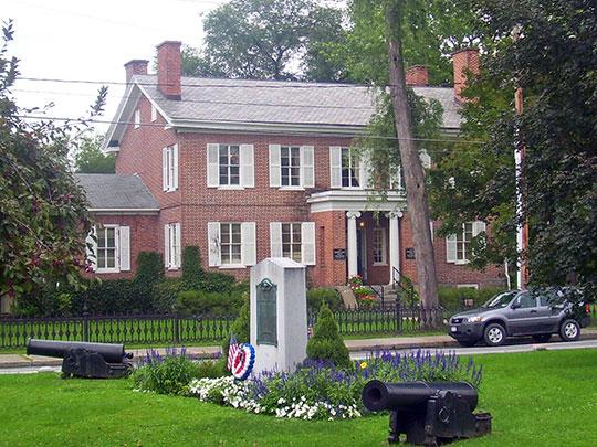 Main Square, Kinderhook Village Historic District, Kinderhook, NY, National Register