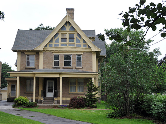 William J. Greenman House, ca. 1922, 27 North Church Street, Cortland, NY, National Register