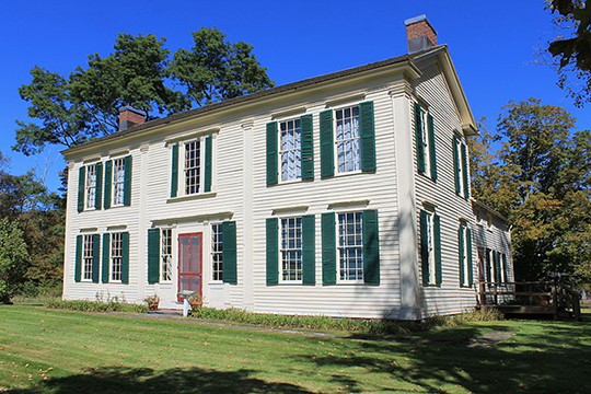 Judge Gideon Frisbee House, ca. 1798, Route 10, Delhi, NY, National Register