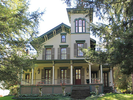 Murray House, ca. 1867, Murray Hill Road, Delhi, NY, National Register