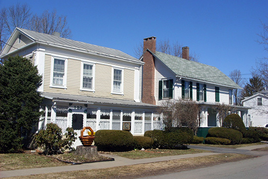Houses in the Franklin Village Historic District, Franklin, NY, National Register