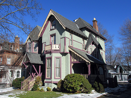 Hershkind House, ca. 1865, 30 Hooker Avenue, Poughkeepsie, NY, National Register