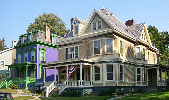 Houses in the Academy Historic District, Poughkeepsie, NY, national Register