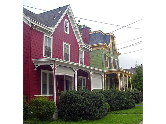Homes in the Balding Avenue Historic District, Poughkeepsie, NY, National Register