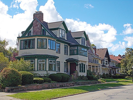Bidwell Parkway Homes, Buffalo, NY