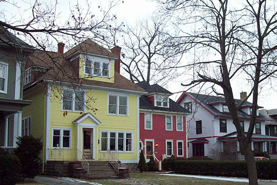 Homes in the Parkside East Historic District, Buffalo, NY, National Register