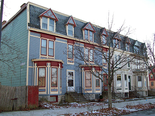 71-81 Woodlawn Avenue, Buffalo, NY, National Register, Woodlawn Avenue Row