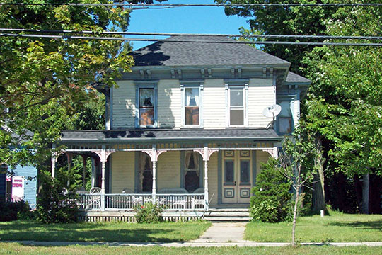 Zuidema-Idsardi House, ca. 1876, 5556 Broadway, Lancaster, NY, National Register