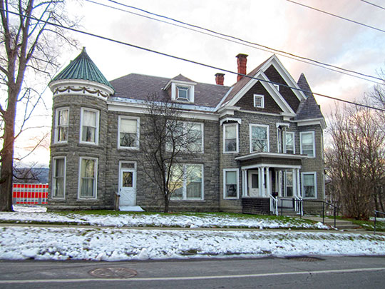 H. G. Burleigh House, ca. 1894, 307 Champlain Avenue, Ticonderoga, NY, National Register