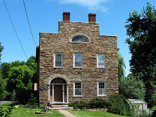 Richard Keese III House, ca. 1820, Keeseville, NY.