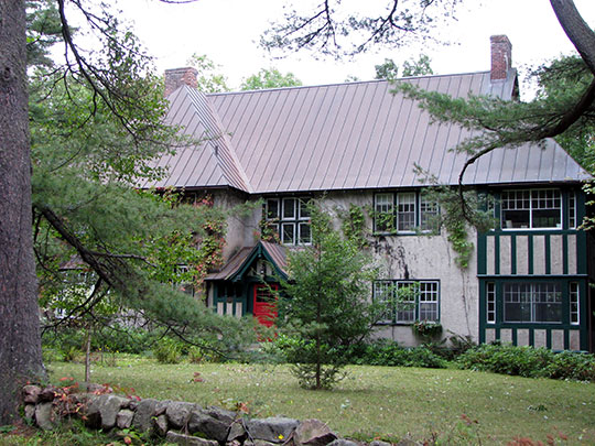 Peyton Clark Cottage (also known as Woodthorpe), ca. 1915, 9 Rockledge Road, Saranac Lake, Essex County, NY, National Register