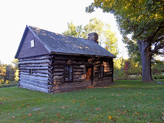 Adsit Log Cabin, Willsboro, Essex County, NY, National Register
