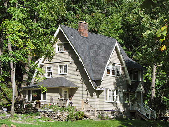 Pomeroy Cottage, ca. 1910, 26 Baker Street, Saranac Lake, NY, National Register