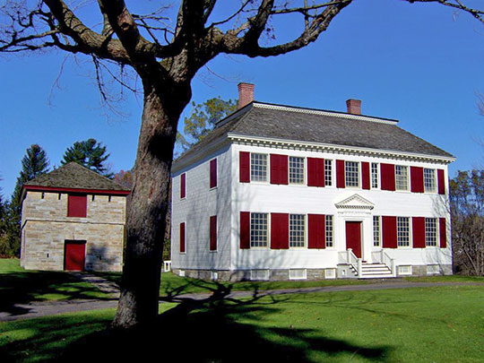 Johnson Hall (Sir William Johnson House), ca. 1763, 139 Hall Avenue, Johnstown, NY, National Register