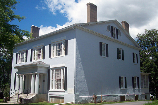 Jacob Le Roy House (Union Free School), ca. 1823 & 1898, Le Roy, NY, National Register