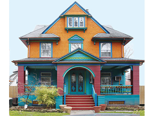 Victorian home in the Ditmas Park Historic District, Broolyn, NY, National Register