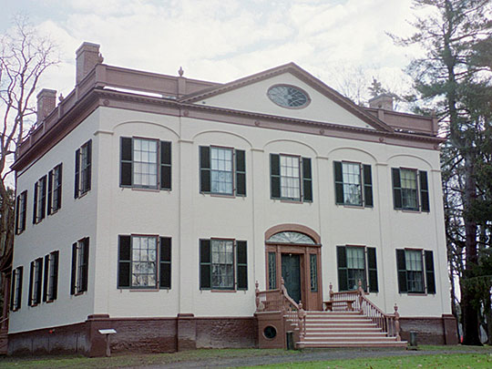 Lorenzo State Historic Site (Colonel Lincklaen House), ca. 1808, Ledyard Street, Cazenovia, NY, National Register