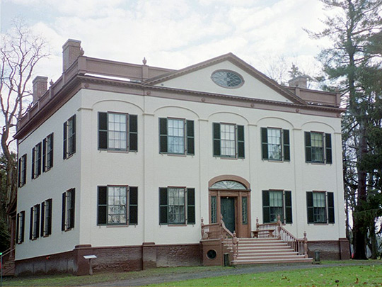 Lorenzo Mansion, ca. 1809, Ledyard Street (Route 20), Cazenovia, NY, National Register