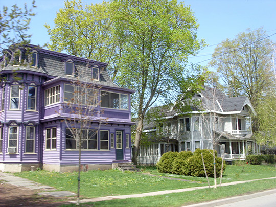 Homes in the Earlville Historic District, Earlville, NY, National Register