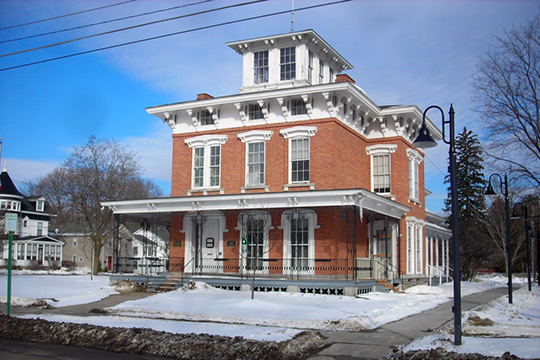 Adon Smith House, ca. 1850, 3 Broad Street, Hamilton Village Historic District, Hamilton, NY, National Register