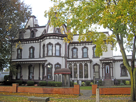 deland,house,national register,fairport,ny,monroe county