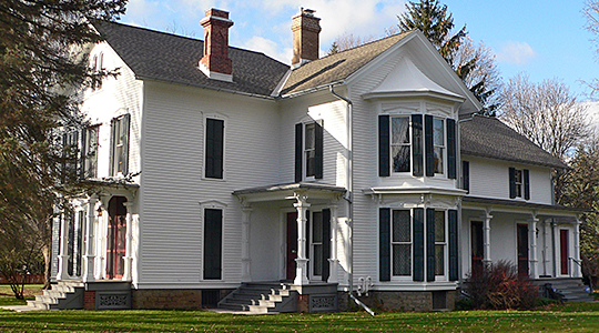 Franklin-Hinchey House, 1870, National Register, Gates, Monroe county, NY