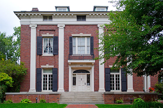 Hiram Sibley House, ca. 1868, 400 East Avenue, East Avenue Historic District, Rochester, NY, National Register