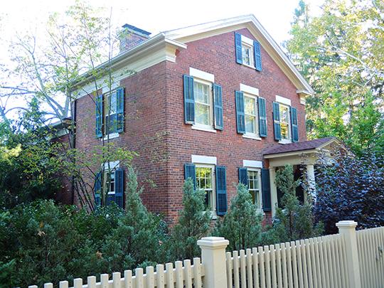 David Hagaman House, ca. 1840, 661 Highland Avenue, Rochester, NY, National Register