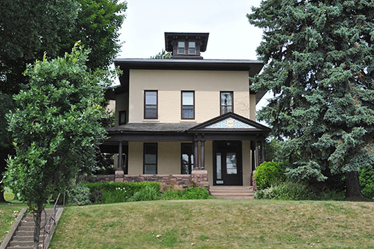 Home at 1017 Lake Avenue, ca. 1870, Maplewood Historic District, Rochester, NY, National Register