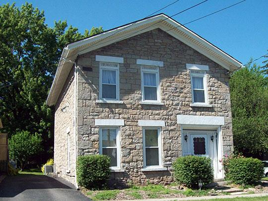 Hopkins House, ca. 1833, 83 Monroe Street, Lockport, NY, National Register